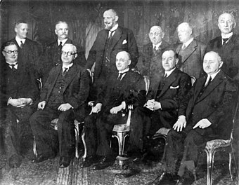 The Brüning Reich Cabinet