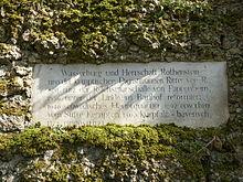 Rothenstein Adelsgeschlecht Wikipedia