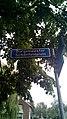 Burgemeester Schönfeldplein street sign, Winschoten (2019) 02.jpg