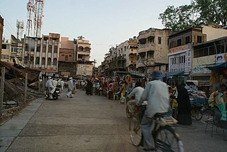 Burhanpur City in Madhya Pradesh, India