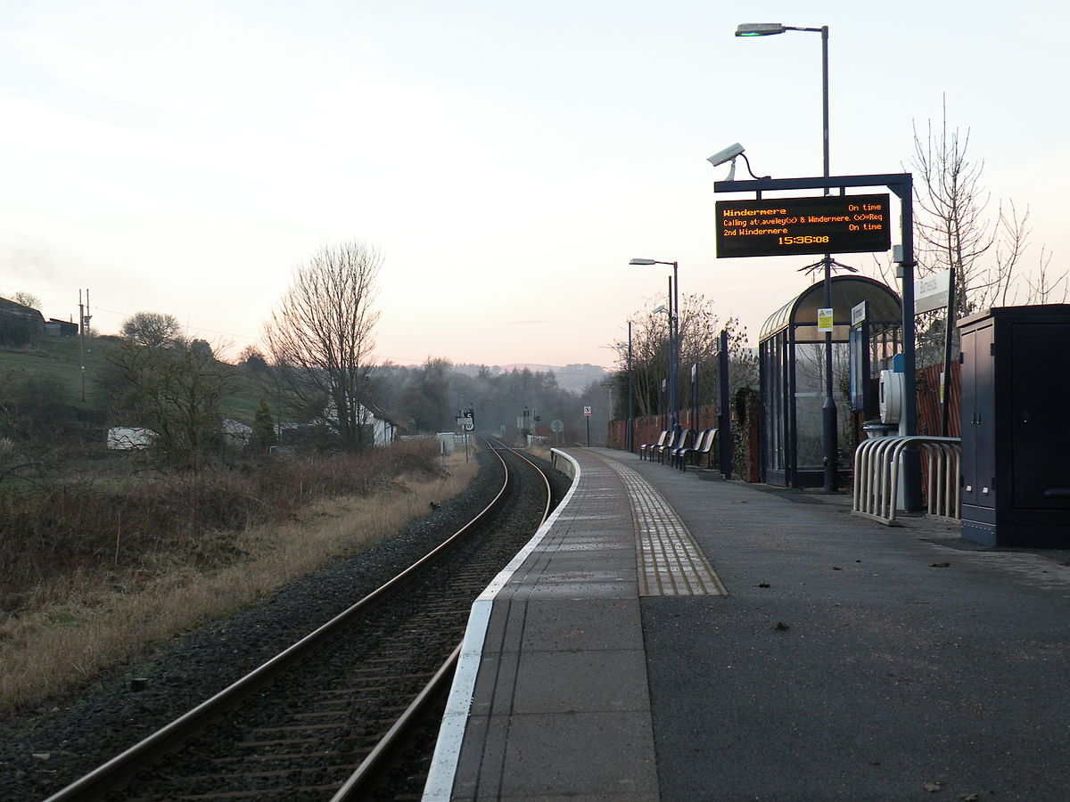 Burneside railway station - Wikipedia