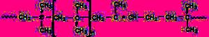 Butyl rubber - Image: Butyl rubber formula