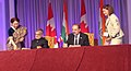 C.P. Joshi and the Minister of Transport, Infrastructure & Communication, Canada, Mr. Denis Label signing an MoU between India & Canada on Infrastructure Development, Operation & Maintenance of Roads, in Quebec, Canada.jpg