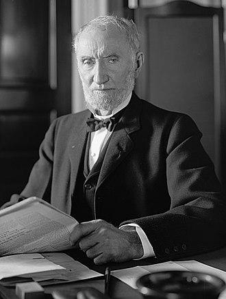 Joseph Gurney Cannon - Image: CANNON, JOSEPH G. HONORABLE. AT DESK LCCN2016856379(c)