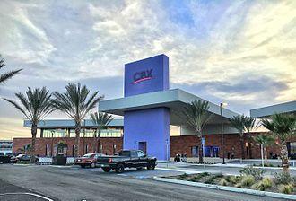 Tijuana International Airport - CBX terminal on the U.S. side of the border
