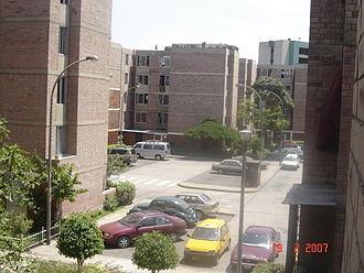 Surquillo - Residencial Dammert Muelle, built during the government of Fernando Belaunde.
