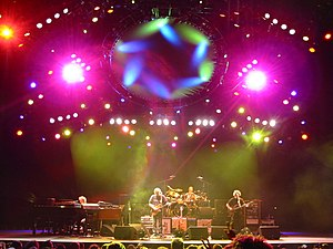 "Jam session -  Phish is an example of a ""jam band""."
