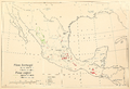 CL-51 Pinus hartwegii & Pinus cooperi range map.png