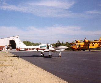 Kenora Airport - Image: CL215and C 310