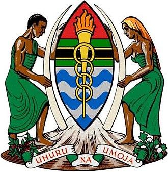 Coat of arms of Tanzania - Image: COA Tanganyika 1
