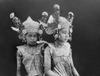 COLLECTIE TROPENMUSEUM Portert van twee jonge Balinese danseressen TMnr 10004678b.tif