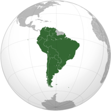 CONMEBOL orthographic projection Mapa CONMEBOL.png