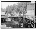 CREEK STREET, LOOKING NORTH, DOLLY'S HOUSE ON RIGHT - City of Ketchikan, Ketchikan, Ketchikan Gateway Borough, AK HABS AK,10-KECH,5-1.tif