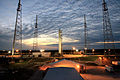 CRS-2 Falcon 9 and Dragon vertical on the launch pad.jpg