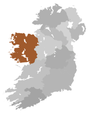 Diocese of Tuam, Killala and Achonry - Diocese Highlighted