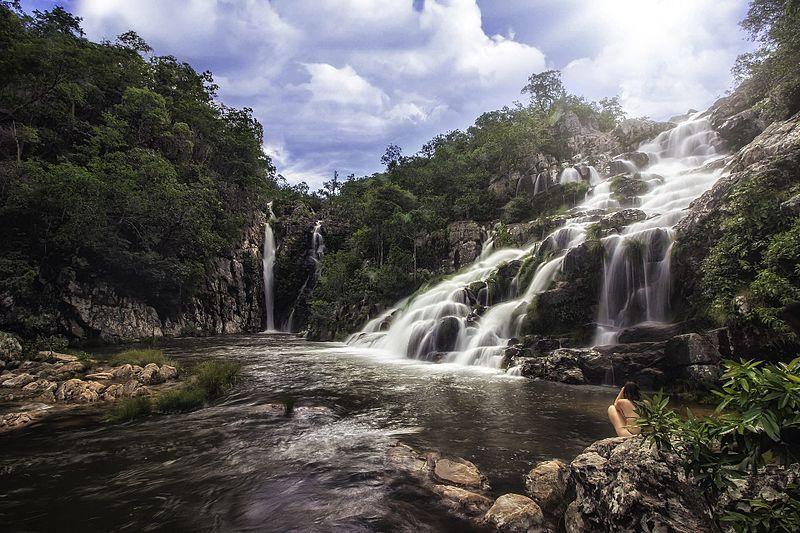 Dicas de viagens no Brasil. Cachoeira Capivara - Chapada dos Veadeiros - GO