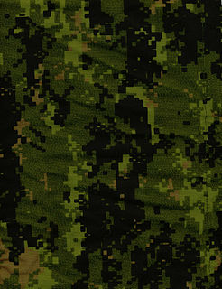 CADPAT digital camouflage pattern