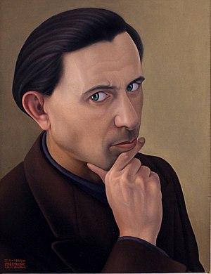 Cagnaccio di San Pietro - Autoritratto (1938), Ca' Pesaro