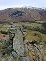 Cairn, Aiken Crag - geograph.org.uk - 1736652.jpg