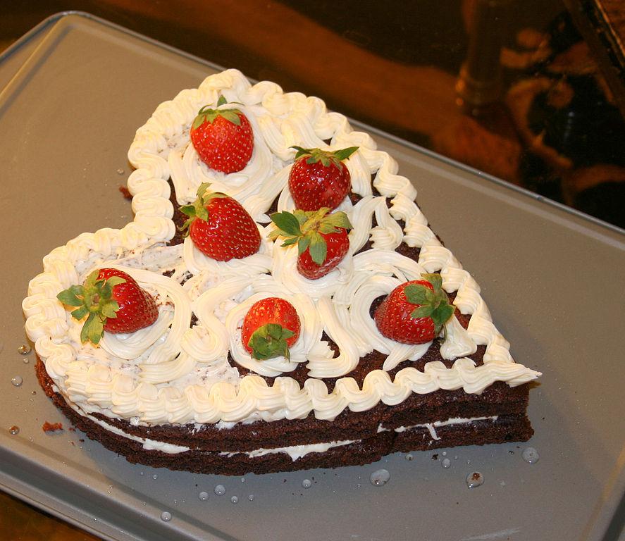 Heart Cake Tin Tier Stairs