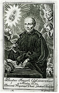 Joseph Calasanz 16th and 17th-century Spanish priest, founder of the Piarists, and saint