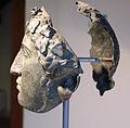 Calchi di elmi a maschera dalle serre di rapolano, I sec. ac. (origimali al museo a.n. di Firenze) 02.JPG