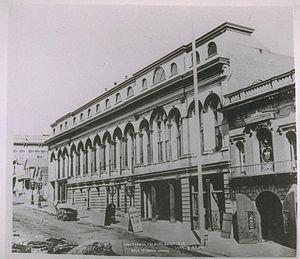 California Theatre (San Francisco) - California Theatre ca. 1870