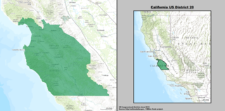 Californias 20th congressional district U.S. House district in western California