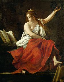 Calliope, Muse of Epic Poetry by Giovanni Baglione.jpg