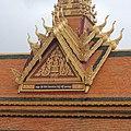 Cambodia, Sihanoukville Province. Pagoda, Ream National Park.jpg