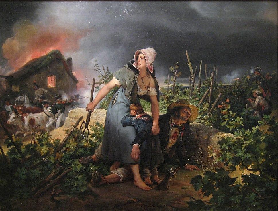 Campagne de France 1814 Vernet