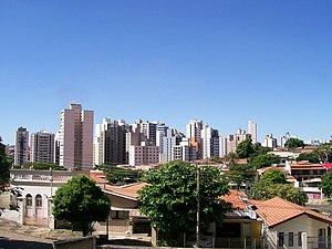 Campinas - SP - Jardim Proença visto da Rua Proença