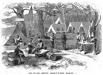 Camp Joe Holt - Camp Joe Holt - 1861