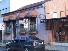 b01fd30ea Casa antiga construída em 1885 e restaurada em 1988. Campo Largo ...