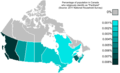Canada Pantheism distribution map.png