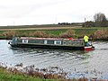 Canal boat on the River Great Ouse - geograph.org.uk - 1618579.jpg