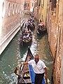Canal w gondolas.JPG