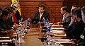 Canciller Patiño acompaña a Presidente Correa en reunión con delegación coreana (4701602348).jpg