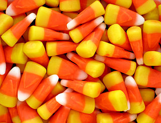 Candy corn confection