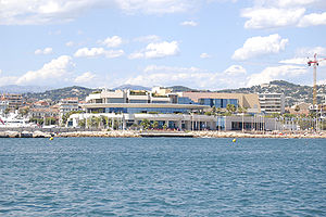 Eurovision Song Contest 1961 - Palais des Festivals et des Congrès, Cannes - host venue of the 1961 contest.