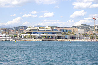 MIPIM - The Palais des Festivals et des Congrès in Cannes, venue of the trade show