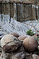 Cannonball Concretions in Theodore Roosevelt National Park.jpg