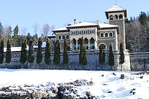 Cantacuzino family - The Cantacuzino Castle in Bușteni, Romania
