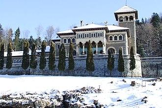 Cantacuzino family - The Cantacuzino Castle in Bușteni, Romania