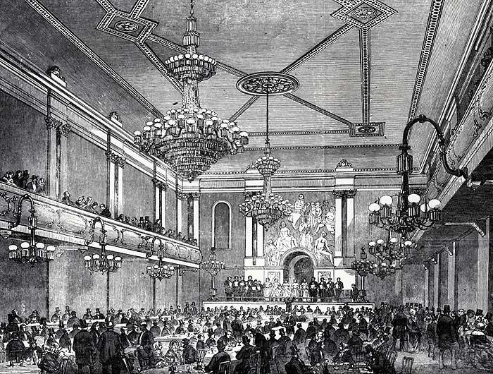 Canterbury Hall circa 1856