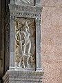 Cappella dello zodiaco, agostino di duccio, segni e pianeti 04,1 mercurio.JPG