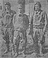 Captain Iwamoto and First Lieutenant Sonoda and the Ando first lieutenant who stand in front of barracks.jpg