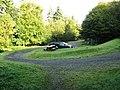 Car park, Dalbeattie Town Woods - geograph.org.uk - 1531540.jpg