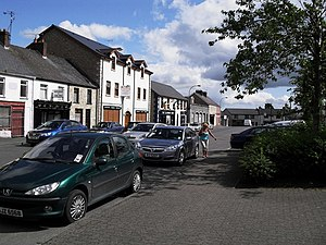 Crossmaglen - Cardinal Ó Fiach Square, Crossmaglen