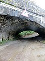 Careful^ Low bridge under the railway in the woods near Trago Mills - October 2014 - panoramio.jpg